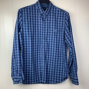 J.CREW Jaspe Gingham L/S Button Down Shirt A9328-L